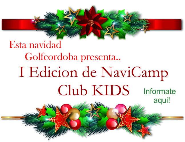 I Edición de Navicamp Kids Golf Córdoba