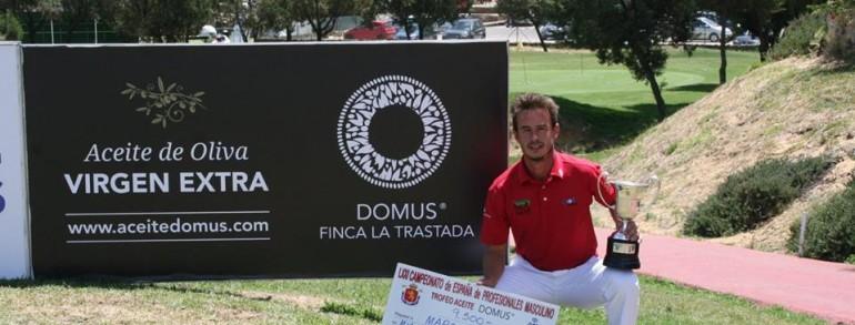 MARCOS PASTOR SE ALZÓ CON SU PRIMER TÍTULO DE CAMPEÓN DE ESPAÑA PROFESIONAL