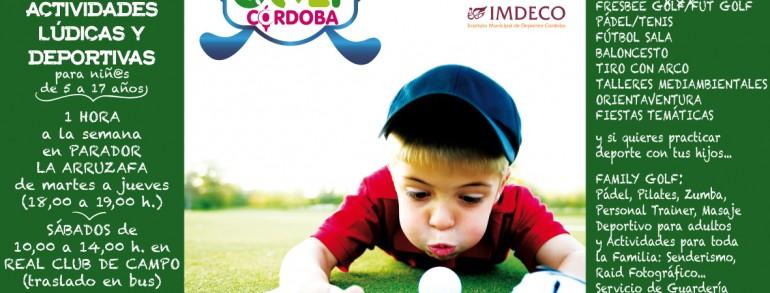 Comienza la nueva temporada Club Kids Golf Córdoba