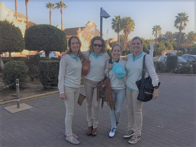 Asunción Moreno, María Carrere y Rocío García-Aranda ganadoras del Circuito Femenino en Islantilla Golf