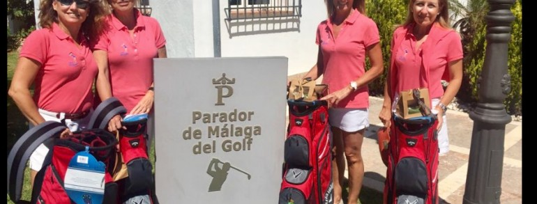 Concha Núñez, Asunción Moreno, María Carrere y Rocío García-Aranda ganadoras del Circuito Femenino en el Real Club de Campo de Málaga