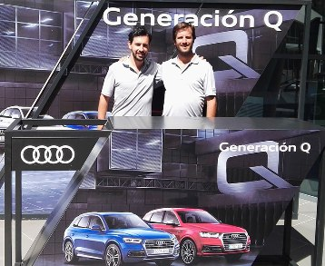 Alfonso Sánchez y David Gordejo acaban segundos en la Final Nacional del Audi Quattro Cup
