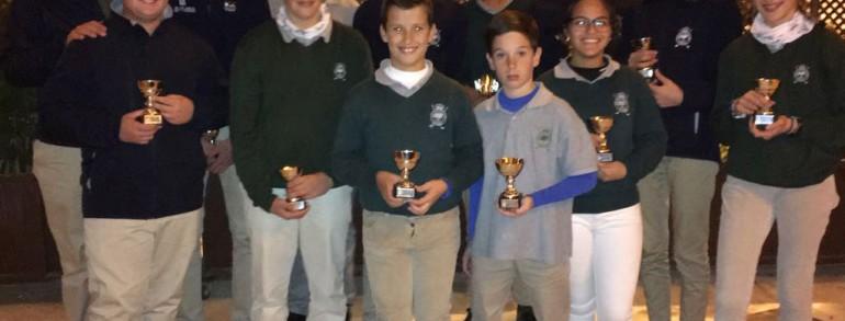 LOS CANTERANOS DEL REAL CLUB DE CAMPO, SUBCAMPEONAES DEL PENTACLUB ANDALUZ