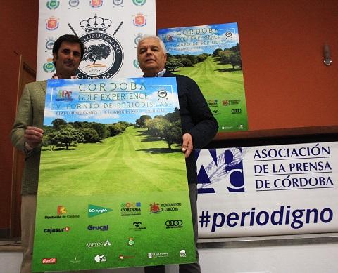 Periodistas de toda España participarán en el V Torneo Cordoba Golf Experience